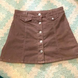 BDG Corduroy Skirt Urban Outfitters